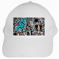 Panic! At The Disco College White Cap