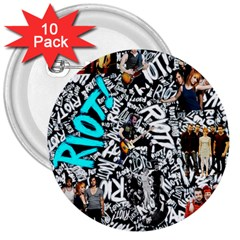 Panic! At The Disco College 3  Buttons (10 Pack)