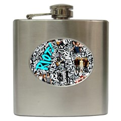 Panic! At The Disco College Hip Flask (6 Oz)