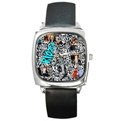 Panic! At The Disco College Square Metal Watch