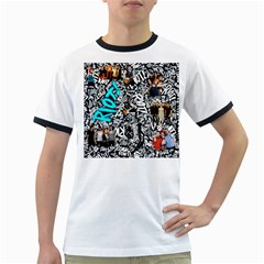 Panic! At The Disco College Ringer T Shirts