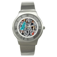 Panic! At The Disco College Stainless Steel Watch