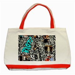 Panic! At The Disco College Classic Tote Bag (red)