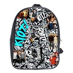 Panic! At The Disco College School Bag (large)