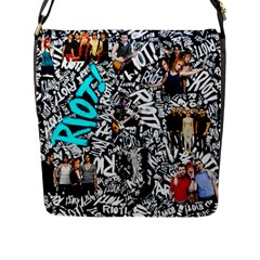 Panic! At The Disco College Flap Messenger Bag (l)