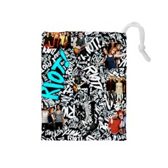 Panic! At The Disco College Drawstring Pouches (medium)