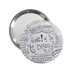 Panic! At The Disco Lyrics 2 25  Handbag Mirrors