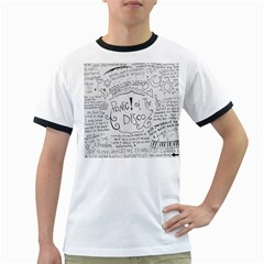 Panic! At The Disco Lyrics Ringer T Shirts