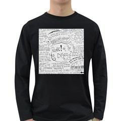 Panic! At The Disco Lyrics Long Sleeve Dark T Shirts