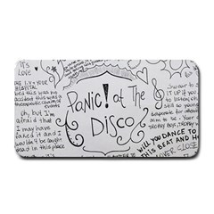Panic! At The Disco Lyrics Medium Bar Mats