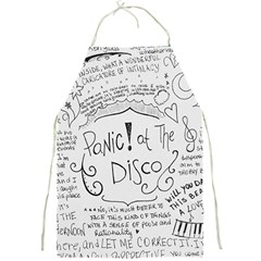 Panic! At The Disco Lyrics Full Print Aprons
