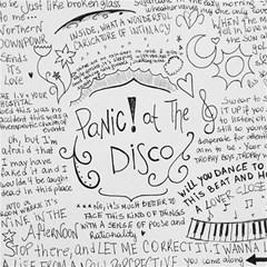 Panic! At The Disco Lyrics Magic Photo Cubes