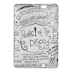 Panic! At The Disco Lyrics Kindle Fire Hdx 8 9  Hardshell Case