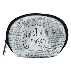 Panic! At The Disco Lyrics Accessory Pouches (medium)