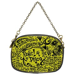 Panic! At The Disco Lyric Quotes Chain Purses (two Sides)