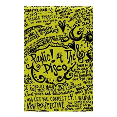 Panic! At The Disco Lyric Quotes Shower Curtain 48  X 72  (small)