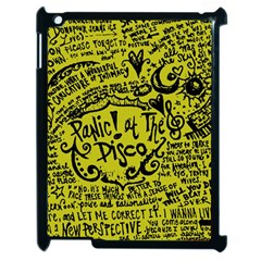 Panic! At The Disco Lyric Quotes Apple Ipad 2 Case (black)