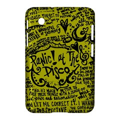 Panic! At The Disco Lyric Quotes Samsung Galaxy Tab 2 (7 ) P3100 Hardshell Case