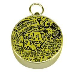 Panic! At The Disco Lyric Quotes Gold Compasses