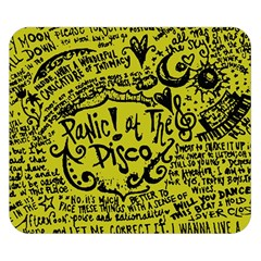 Panic! At The Disco Lyric Quotes Double Sided Flano Blanket (small)