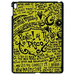 Panic! At The Disco Lyric Quotes Apple Ipad Pro 9 7   Black Seamless Case