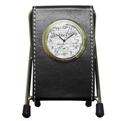 Panic At The Disco Lyrics Pen Holder Desk Clocks