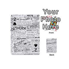 Panic At The Disco Lyrics Playing Cards 54 (mini)