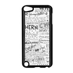 Panic At The Disco Lyrics Apple Ipod Touch 5 Case (black)