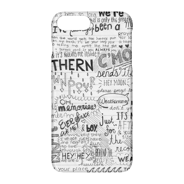 Panic At The Disco Lyrics Apple iPhone 7 Plus Hardshell Case