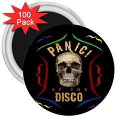 Panic At The Disco Poster 3  Magnets (100 Pack)