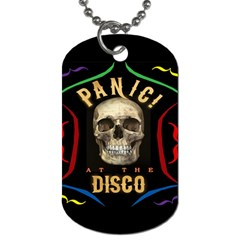 Panic At The Disco Poster Dog Tag (one Side)