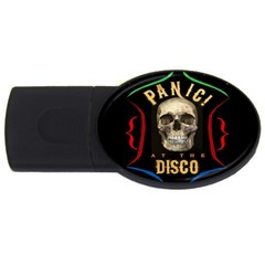 Panic At The Disco Poster Usb Flash Drive Oval (4 Gb)