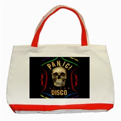 Panic At The Disco Poster Classic Tote Bag (red)