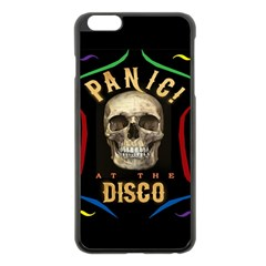 Panic At The Disco Poster Apple Iphone 6 Plus/6s Plus Black Enamel Case