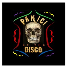 Panic At The Disco Poster Large Satin Scarf (square)