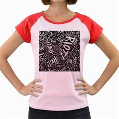 Panic At The Disco Lyric Quotes Retina Ready Women s Cap Sleeve T Shirt