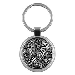 Panic At The Disco Lyric Quotes Retina Ready Key Chains (round)