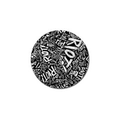 Panic At The Disco Lyric Quotes Retina Ready Golf Ball Marker