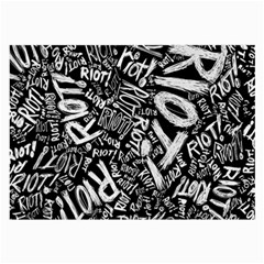 Panic At The Disco Lyric Quotes Retina Ready Large Glasses Cloth (2 Side)
