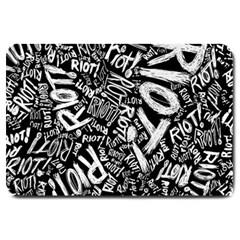 Panic At The Disco Lyric Quotes Retina Ready Large Doormat