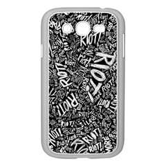 Panic At The Disco Lyric Quotes Retina Ready Samsung Galaxy Grand Duos I9082 Case (white)