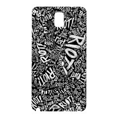 Panic At The Disco Lyric Quotes Retina Ready Samsung Galaxy Note 3 N9005 Hardshell Back Case