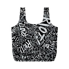 Panic At The Disco Lyric Quotes Retina Ready Full Print Recycle Bags (m)