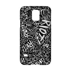 Panic At The Disco Lyric Quotes Retina Ready Samsung Galaxy S5 Hardshell Case