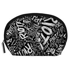 Panic At The Disco Lyric Quotes Retina Ready Accessory Pouches (large)