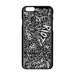 Panic At The Disco Lyric Quotes Retina Ready Apple Iphone 6/6s Black Enamel Case