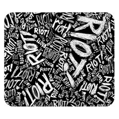 Panic At The Disco Lyric Quotes Retina Ready Double Sided Flano Blanket (small)