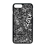 Panic At The Disco Lyric Quotes Retina Ready Apple iPhone 7 Plus Seamless Case (Black) Front