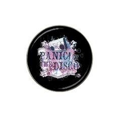 Panic At The Disco Art Hat Clip Ball Marker
