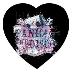 Panic At The Disco Art Jigsaw Puzzle (heart)